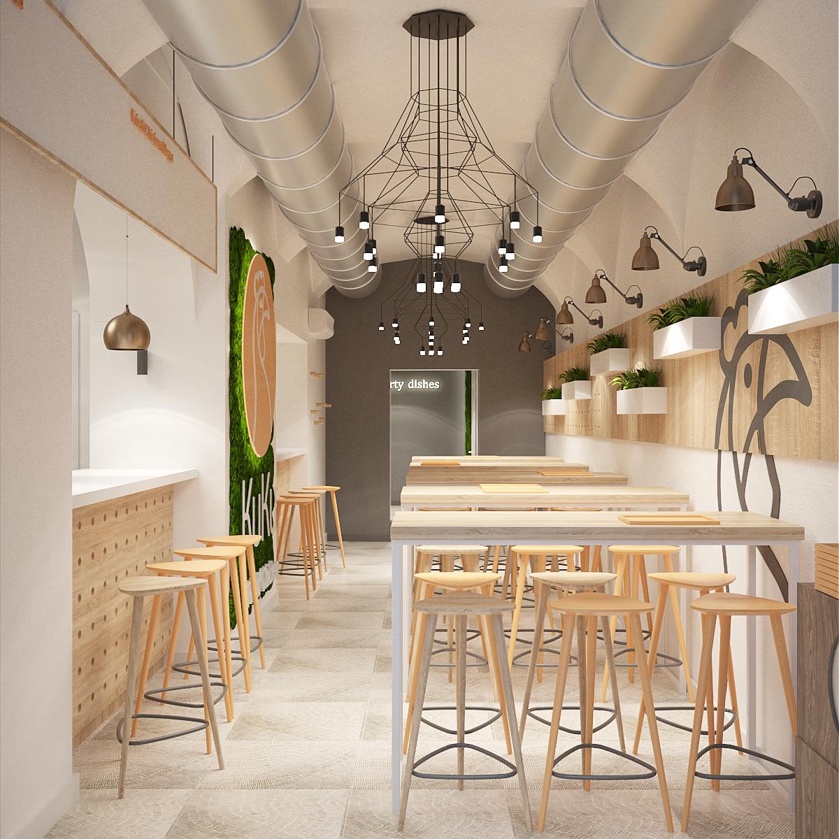 projekt wnetrza 423 restauracja krakow